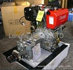Air-cooling Marine Inboard Diesel Engine D40H