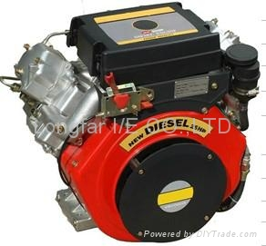 25hp v-twin diesel engine 3