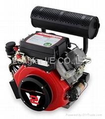 27hp v-twin diesel engine