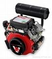 25hp v-twin diesel engine 4