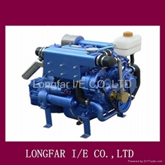 water-cooling marine inboard diesel engine