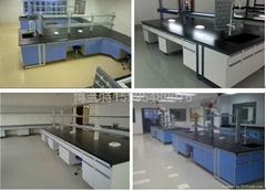 鋼木實驗桌