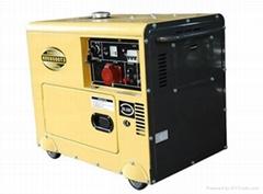 Electric portable soundproof diesel generator