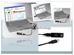 Mini USB Thermo-hygrometer