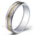 雕花钨钢戒指 本色