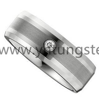 白钨钢戒指 1