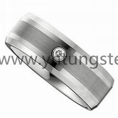 白钨钢戒指