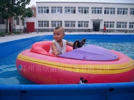 儿童充气水上乐园电瓶船