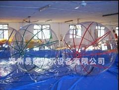 儿童郑州水上乐园充气步行球