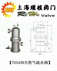 TSS43H天然氣疏水閥