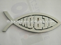 ABS Chrome plated car badge 1