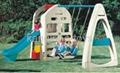 plastic swing play