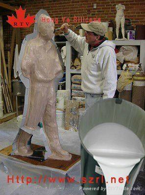 Molding Rubber Silicone For Garden Statue Mold Hy638 630