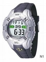 water proof 3ATM digital watch
