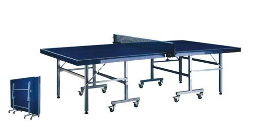 Single folding movable table