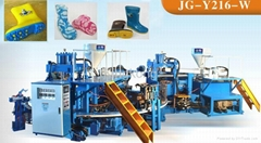 PVC gum rain boot making machine