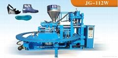 Lady PVC flat shoes making machine