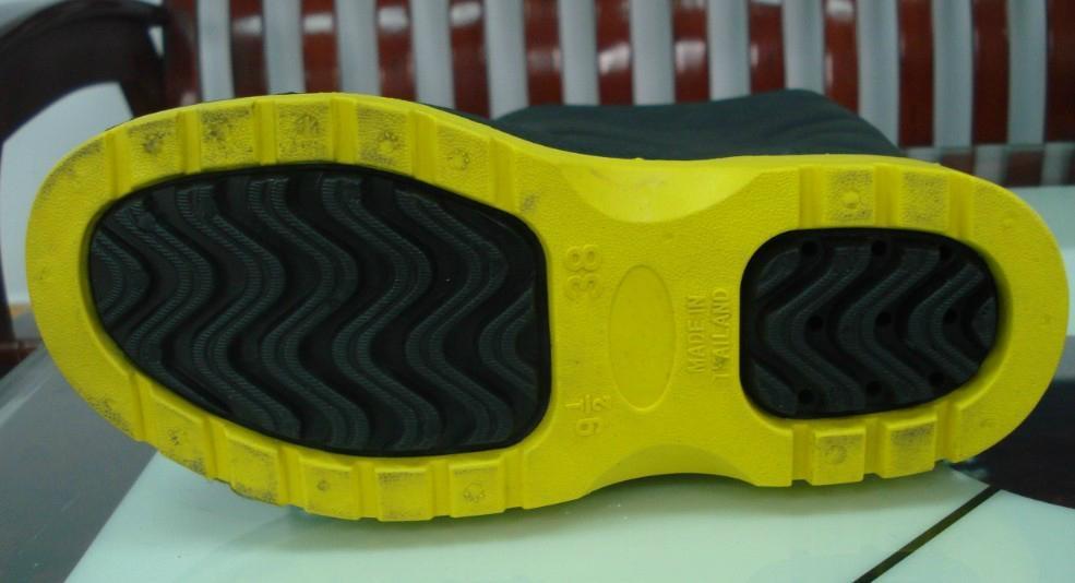 Safety shoe making machine 5