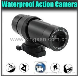 ks023 waterproof sports action camera ,factory price action camera