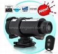 ks007 Special laser light digital camera,sport action camera   1
