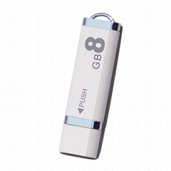 Translucent optional lighter style usb drive