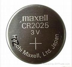 萬勝麥克賽爾紐扣電池CR2025