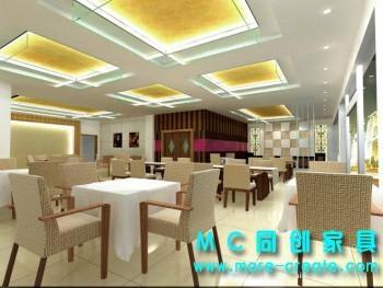 西餐廳桌椅 3