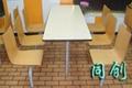 連體快餐桌椅 4