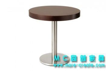 圓形實木咖啡桌 2