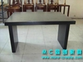 圓形實木咖啡桌 4