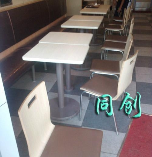 現代快餐桌椅 5