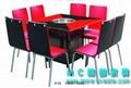八人方形火鍋桌椅