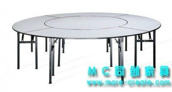 圓形PVC折疊大餐桌 1