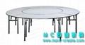 圓形PVC折疊大餐桌