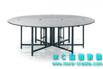 圓形PVC折疊大餐桌 2