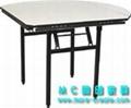 圓形PVC折疊大餐桌 3