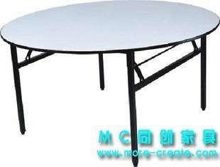 圓形PVC折疊大餐桌 4