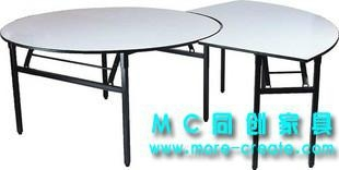 圓形PVC折疊大餐桌 5