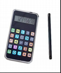 handheld pocket touch calculator