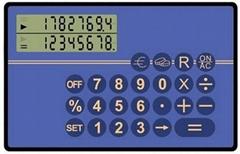 Card calculator PPC2001E