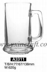 Beer glass, glass mugs
