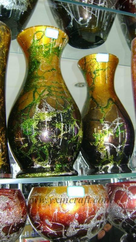 Retro vase, glass vase 1