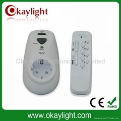 GS/CE approval remote control sockets