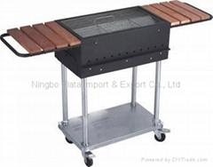 Folding Steel Charcoal BBQ Grills