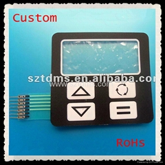Tactile Membrane Switch with Metal Domes