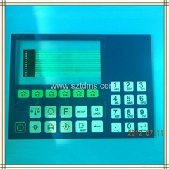 LCD membrane switch for control system