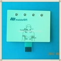 Medical Membrane Keypad with small LED