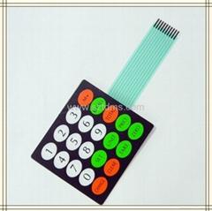 LCD Membrane Switch Keypad