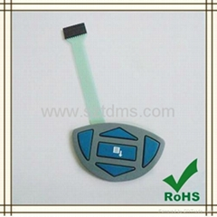 Rubber Overlay Membrane Switch