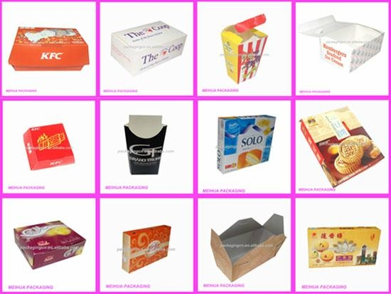 Fast Food Packaging Information